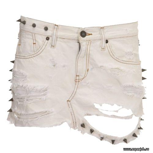 Режем джинсы что можно сделать из