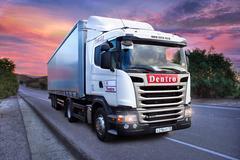 Логотип компании Дентро
