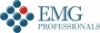 Логотип компании EMG, Professionals