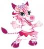 Работа в Розовая зебра