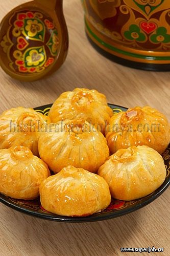 Усбосмаки (пирожки по-башкирски) Для теста мука 150 грамм , масло