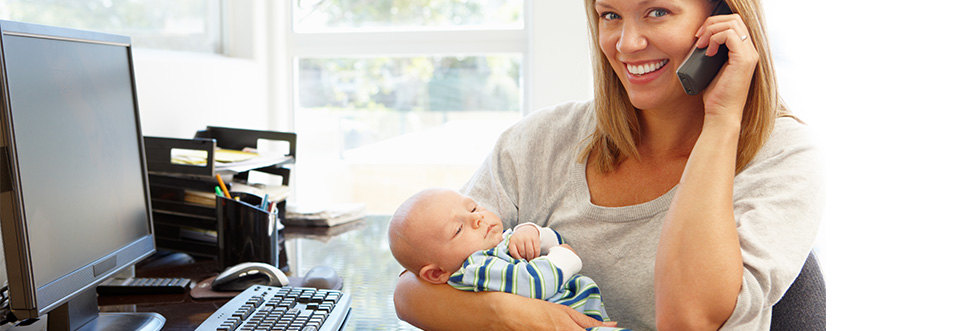 Как найти работу молодой маме