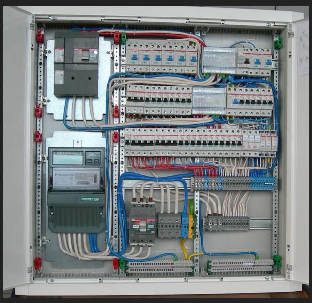 Сборка электрощитов с разведением электропроводки.  Установка и расключение всех видов электрического оборудования и...