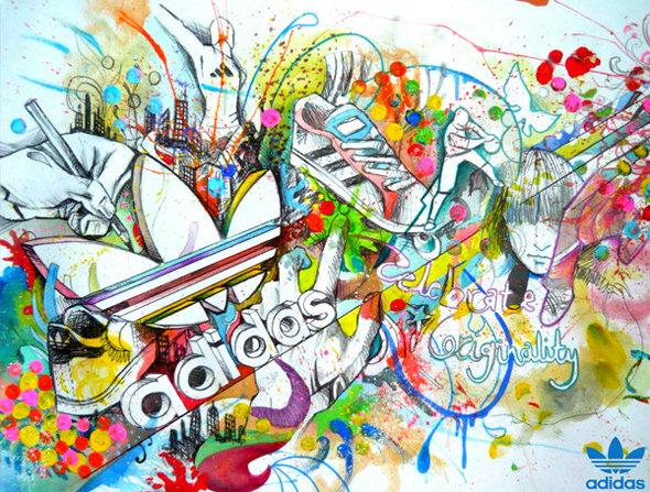 Ассорти стажировок в офисе adidas Group
